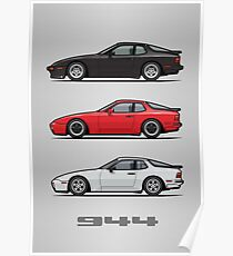 P 944 951 Turbo Trio Poster