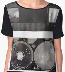 VHS - inside and outside Chiffon Top