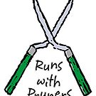 Runs with Pruners by evisionarts