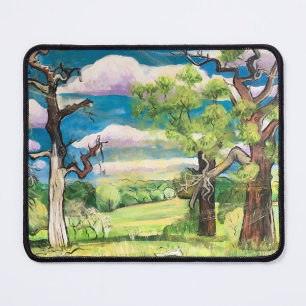 Under The Oak Tree: Looking Ahead Mouse Pad