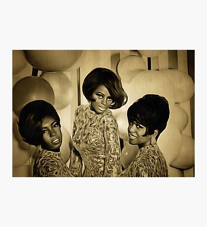 The Supremes in 1967 Photographic Print
