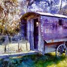 Old Shepherd's Trailer by Aira-Art