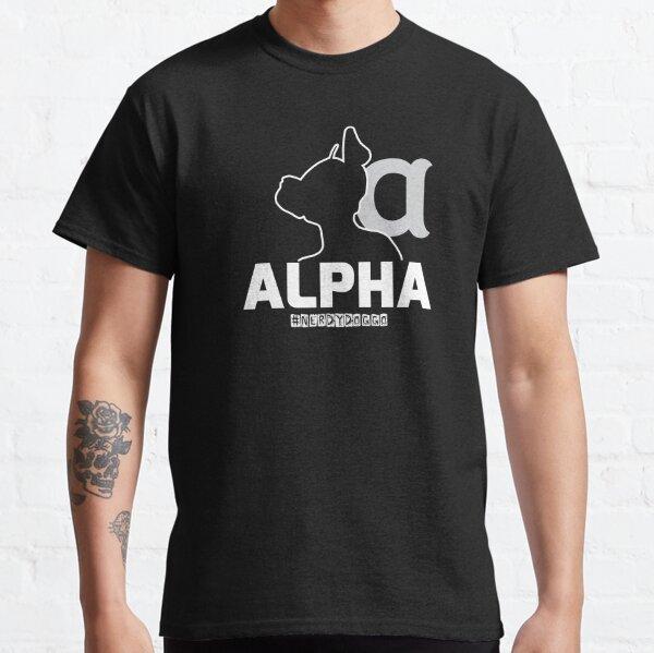 Nerdy Doggo Alpha Classic T-Shirt