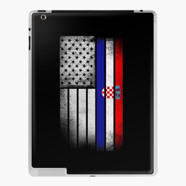 Croatian American Flag iPad Skin