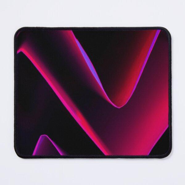 Purple Maze Mouse Pad