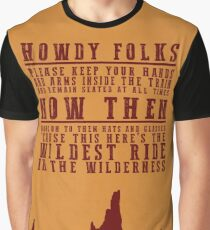 Big Thunder Mountain Quote Graphic T-Shirt