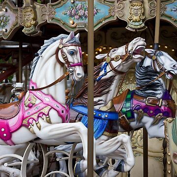 Carousel at Montmartre by mbinder