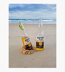 Beer O'clock Photographic Print
