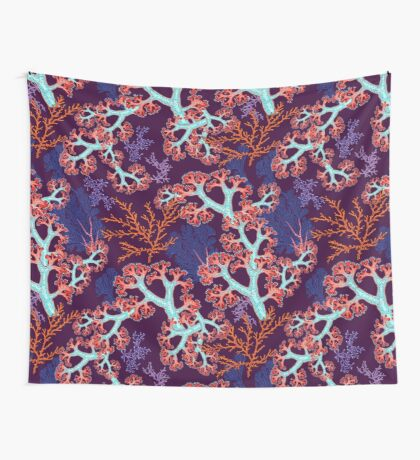 coral dream Wall Tapestry