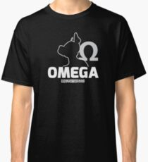 Nerdy Doggo Omega Classic T-Shirt
