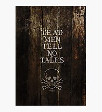 Pirates of the Carribean Quote Photographic Print