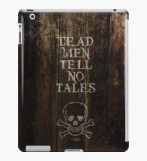 Pirates of the Carribean Quote iPad Case/Skin