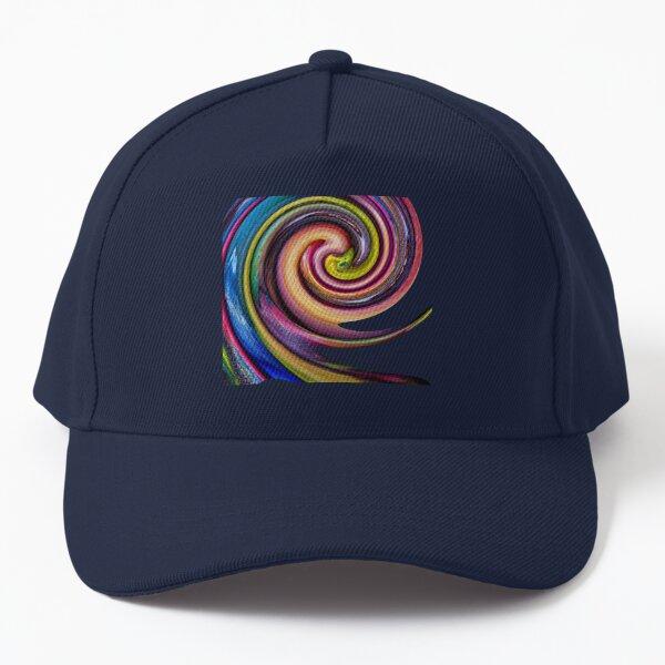 Marble Swirl Candy Baseball Cap