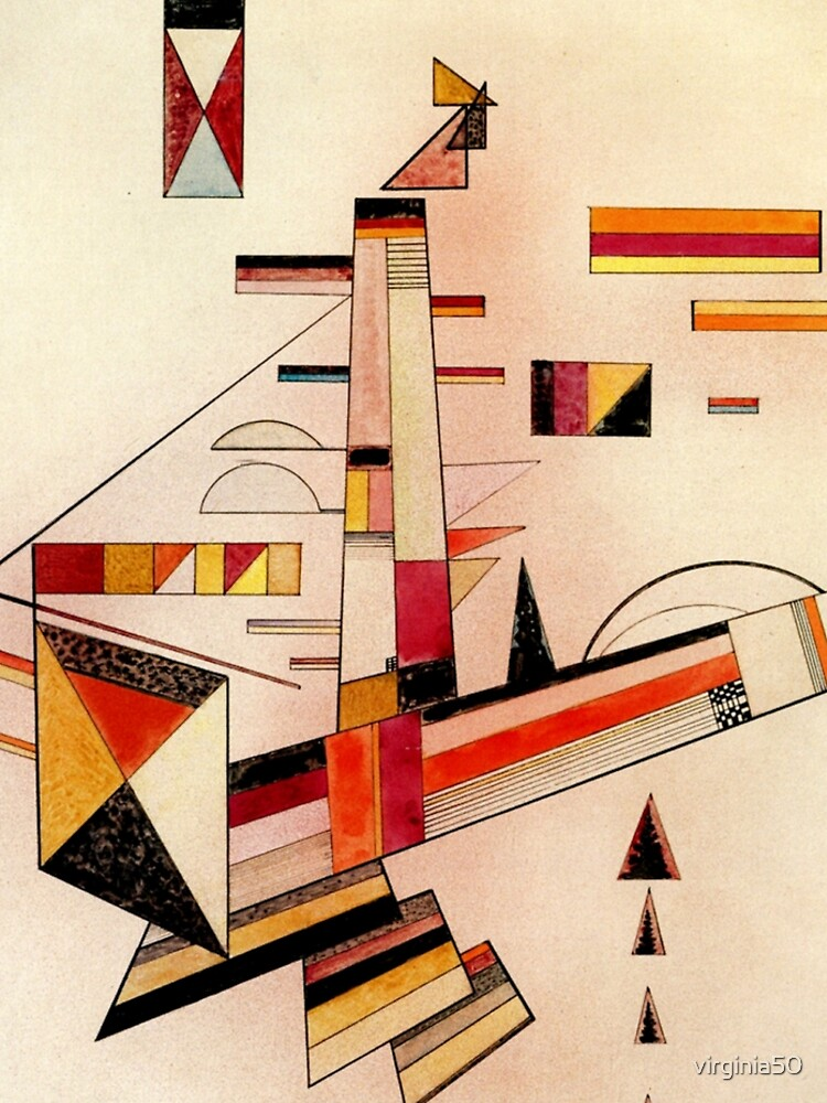Kandinsky - Certainly, popular abstract art painting by virginia50