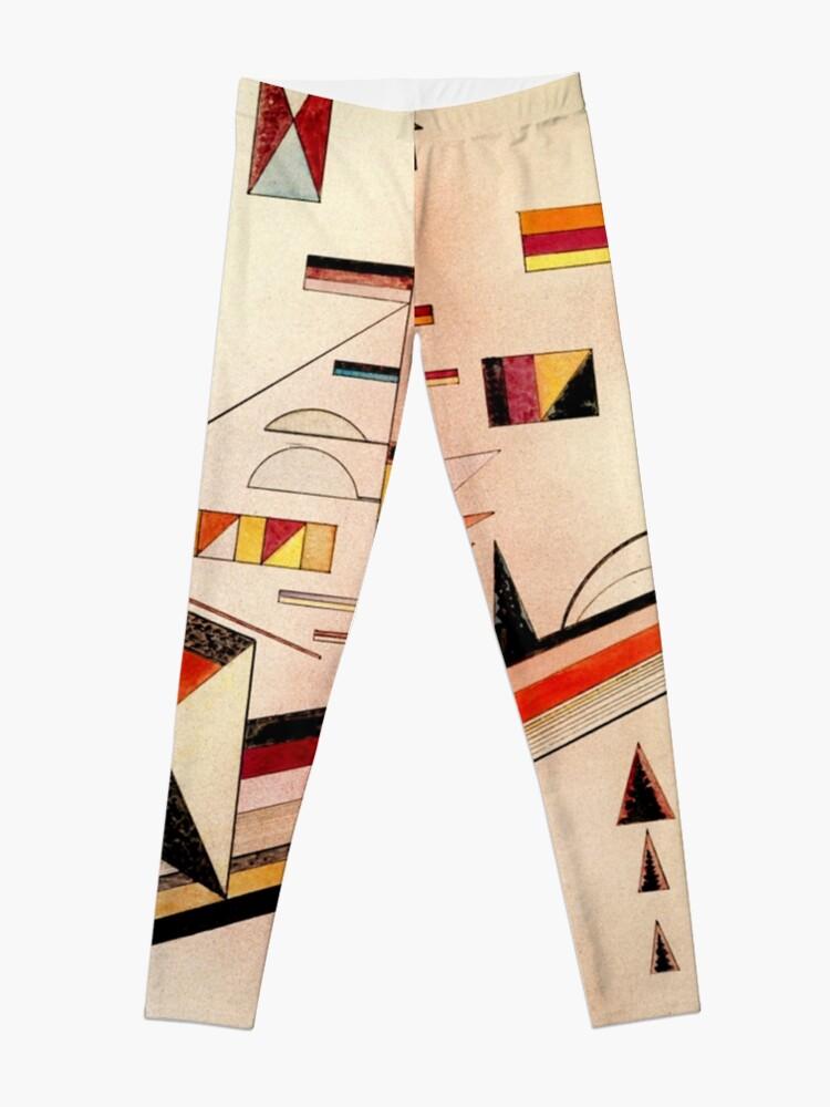 Alternate view of Kandinsky - Certainly, popular abstract art painting Leggings