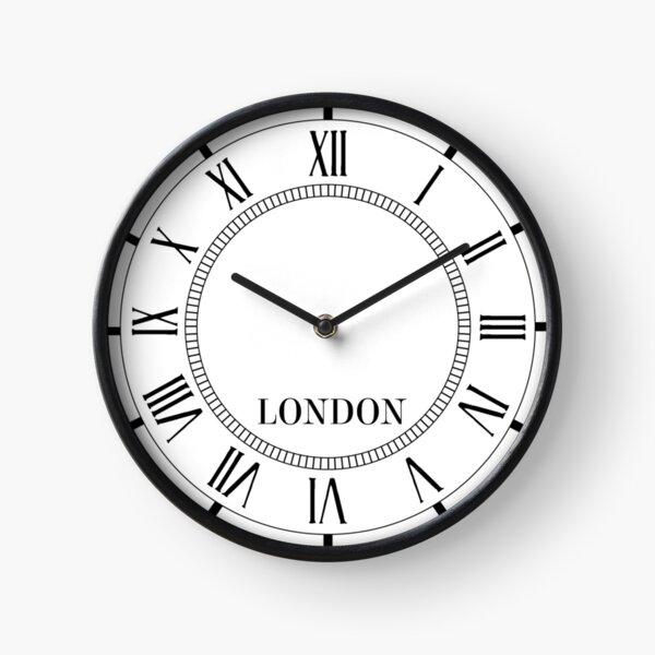 London Wall Clock with Roman Numerals Clock