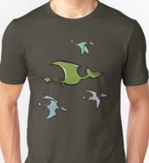 a flock of pterosaurs Unisex T-Shirt