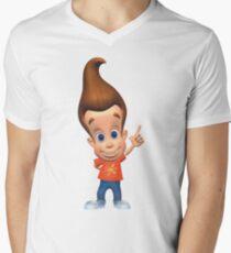 Jimmy Neutron Men's V-Neck T-Shirt