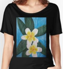 frangipanis Women's Relaxed Fit T-Shirt