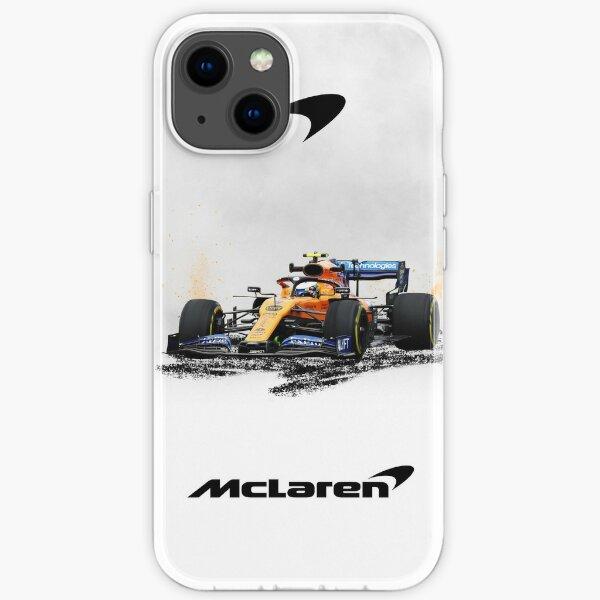 McLaren F1 Poster & canvas - Lando Norris formula 1 iPhone Soft Case