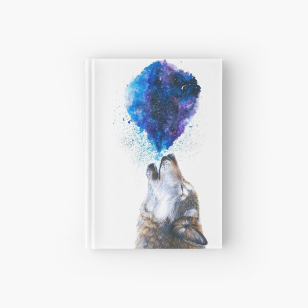 Howling Wolf Hardcover Journal