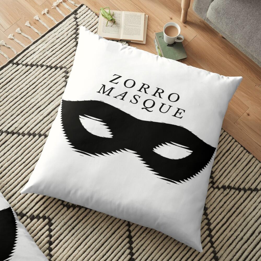 Zorro ™ design Floor Pillow