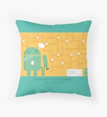 Interface Segregation - SOLID  Throw Pillow