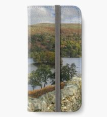 Views Over A Wall iPhone Wallet