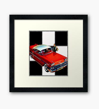 1958 Chevrolet Framed Print