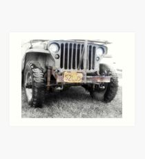 1942 Willys MB  Art Print