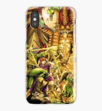 Dragon Attack iPhone Case