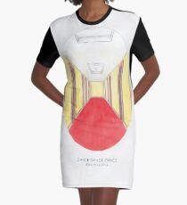 Haruki Murakamis Dance Dance Dance // Illustration des Dolphin Hotels in Aquarell und Bleistift T-Shirt Kleid