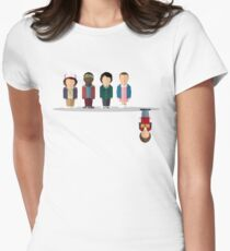 The Upside Down Women's Fitted T-Shirt