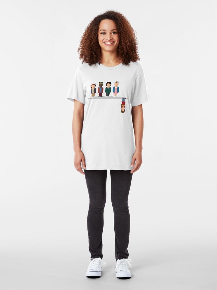 Vista alternativa de Camiseta ajustada El revés