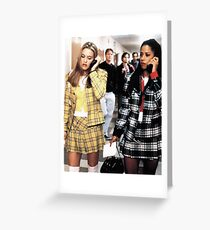 CLUELESS. Greeting Card