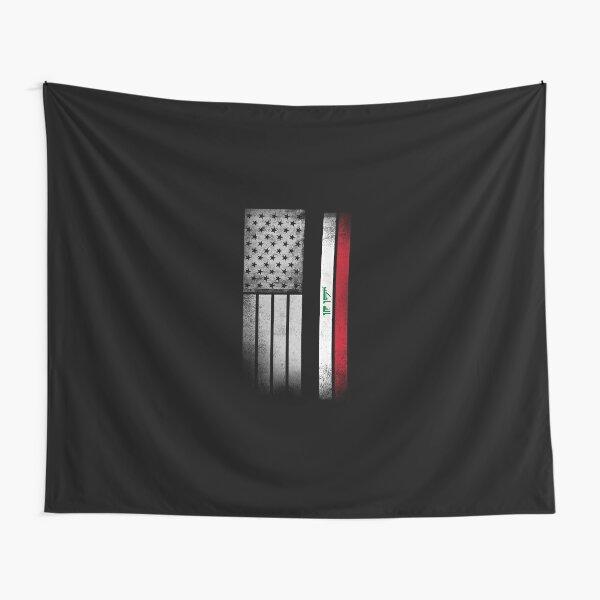 Iraqi American Flag Tapestry