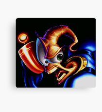 Earthworm Jim Canvas Print