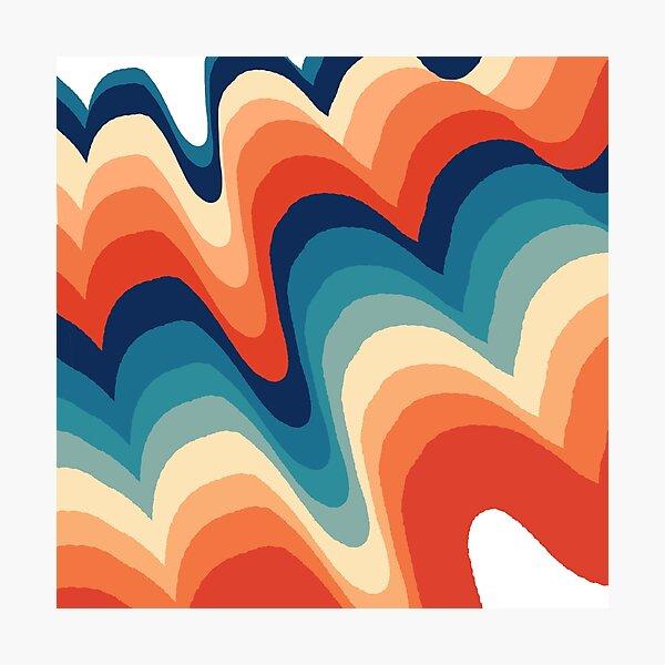 Vivid Swirls Photographic Print