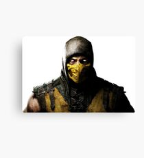 Mortal Kombat X - Scorpion Canvas Print