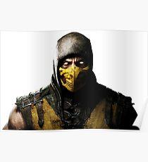 Mortal Kombat X - Scorpion Poster