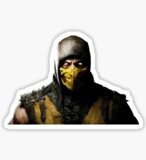 Mortal Kombat X - Scorpion Sticker