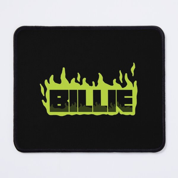 Billie E Green Flames style  Perfect Gift billie eilish gift Mouse Pad