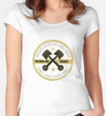 ROGUE GARAGE Women's Fitted Scoop T-Shirt