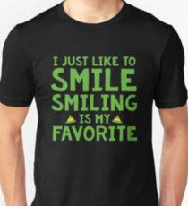 SMILING IS MY FAVORITE Unisex T-Shirt