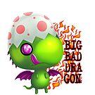 big bad dragon von Florian  Gelbmann