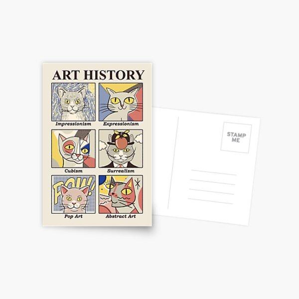 Art History Postcard