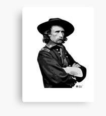 Tinent Coronel Custer Canvas Print