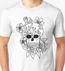 Sugar Skull - Plain Unisex T-Shirt
