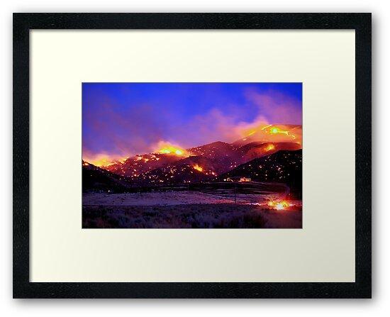 Palomino Valley Wild Fire (The Ironwood Fire) by SB  Sullivan
