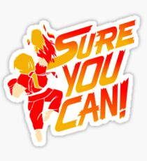SURE YOU CAN! Sticker